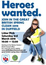 The Great British Spring Clean 2018 - Heroes wanted!