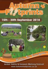 "Get active with ""Autumn Footprints"" walking festival: 15-30 Sept 2018"