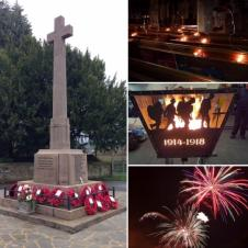 Duffield Remembers WWI: Armistice Day Centenary and Fireworks Display, Sunday 11th November 2018