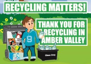 Don't forget! Bin collection changes this weekend in Amber Valley