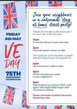 VE Day Stay-at-home celebration - Friday 8th May