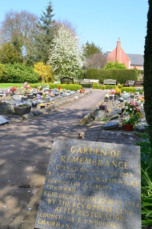 Hazelwood Road Cemetery Garden of Remembrance