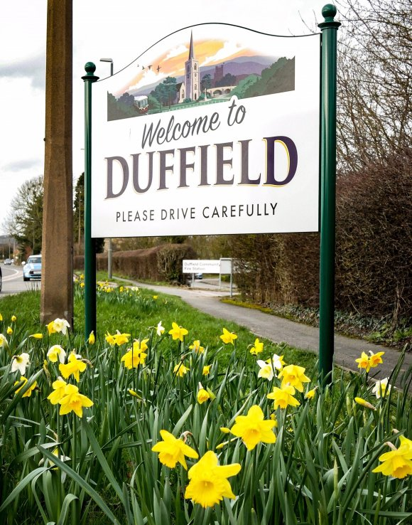 Duffield Village sign