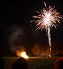Duffield bonfire and fireworks display: Friday 3rd November